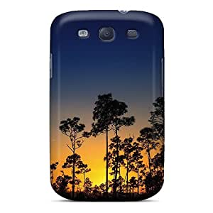 Perfect Fit DMCBCyX6478eArqy Sunset And Trees Case For Galaxy - S3