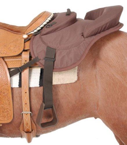 Brown Tough 1 Tough-1 Ride Behind Tandem Saddle for Western Saddle