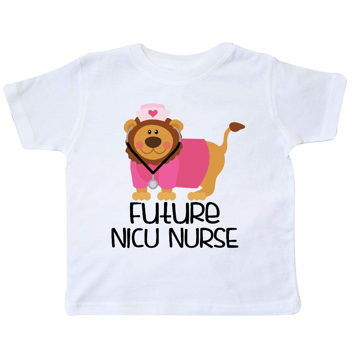 inktastic Future NICU Nurse Lion Toddler T-Shirt