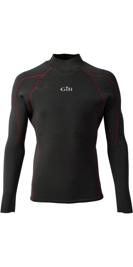 2017 Gill Race Firecell Long Sleeve Neoprene Top GRAPHITE / GREY RS17 Sizes- - Small