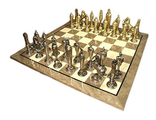 (Renaissance Metal Men Chess Set)