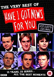 The Very Best of \'Have I Got News for You\' [Region 2]