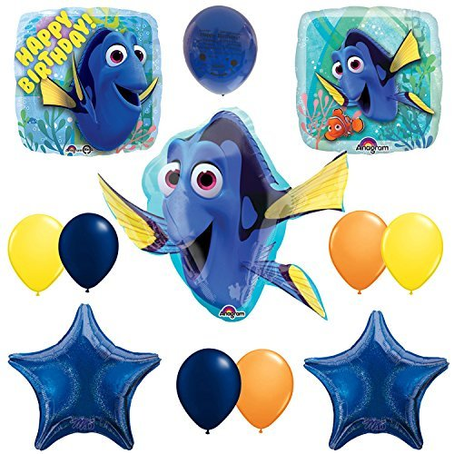 Finding Dory Happy Birthday Balloon Decoration kit