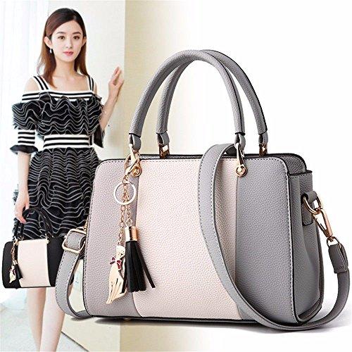 Bandoulière Mode Unique pour gris Lady pour MSZYZ Sac à à Main Cartable Lady Sac Sac IqtWw1WZ