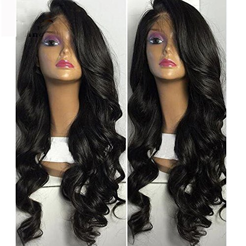 Amazon.com : Helene Hair Sexy Loose Deep Wave Wig Brazilian Virgin Hair Human Hair Glueless Full Lace Wigs With Baby Hair 180% Density (20