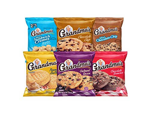 Grandma's Cookies Variety Pack, 30 Count (Tahoe Tub Package)