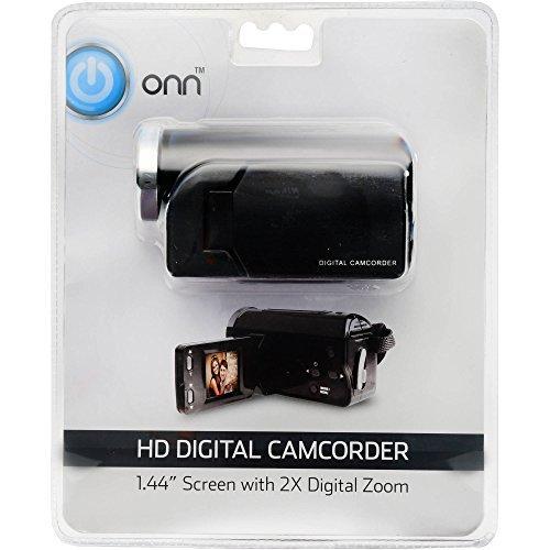 ONN HD Camcorder Video Camera With 1.44-inch Screen, 2X Digi