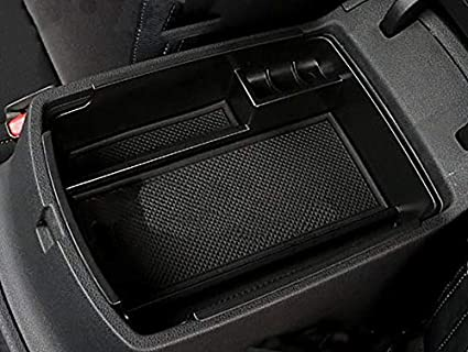 LFOTPP 2016 2017 2018 Sportage QL Armrest Center Console Organizer Tray Accessories with Coin and Sunglass Holder,Secondary Storage Box