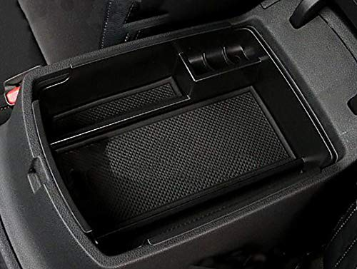 Kaungka Car Center Console Tray Armrest Secondary Storage Center Console Organizer for 2017-2018 Kia Sportage
