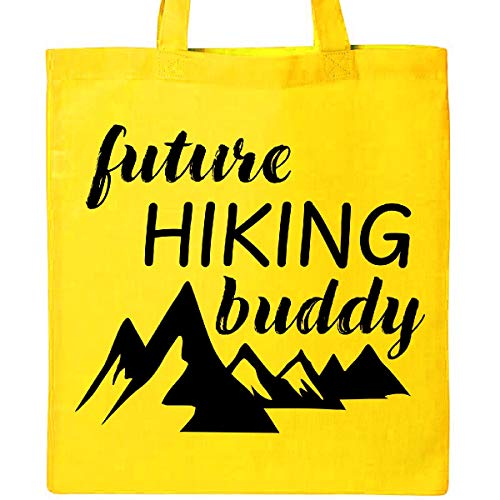 Junior Handbags Yellow - Inktastic - Future Hiking Buddy Tote Bag Yellow 34c64