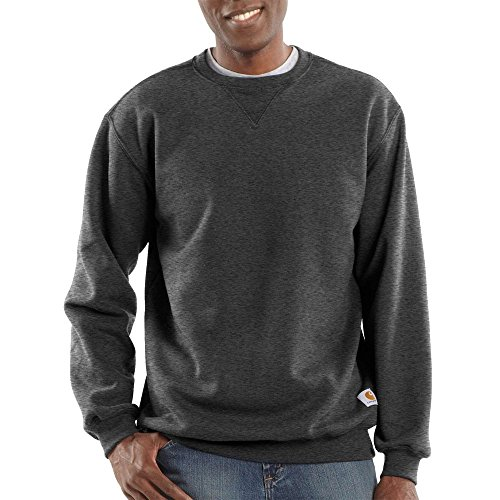 eck Midweight Sweatshirt K124, Carbon Heather, X-Large ()