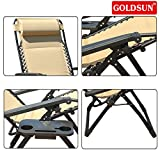 GOLDSUN Oversized XL Padded Zero Gravity Chair