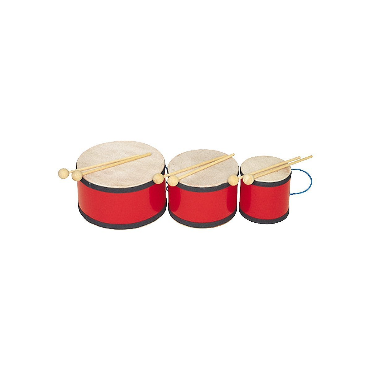 Rhythm Band Indian Tom Tom with Mallets 5x5 by Rhythm Band