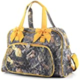 Quilted Camo Overnight Duffle Bag (MD)