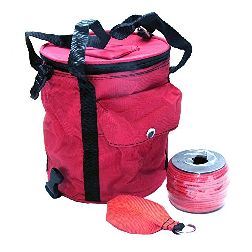 Arborist Throw Line Kit with Collapsible Rope Bag by OmniProGear