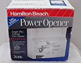 Hamilton Beach Power Opener Under-The-Cabinet Can Opener review