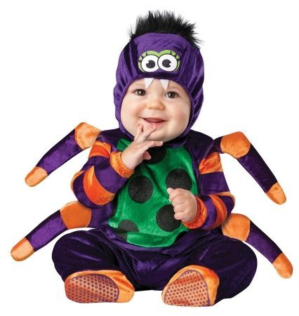 Costumes For All Occasions Ic16010Txs Itsy Bitsy Spider 2B 6-12M