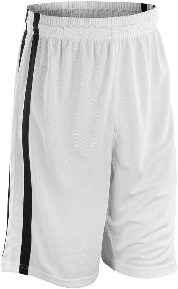 Spiro - Pantalones Cortos de Baloncesto Secado rápido Hombre ...