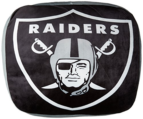 The Northwest Company NFL Oakland Raiders Cloud Pillow, Black, One (Oakland Raiders Pillow)