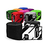 Sanabul Elastic Professional 180 inch Handwraps for Boxing Kickboxing Muay Thai MMA