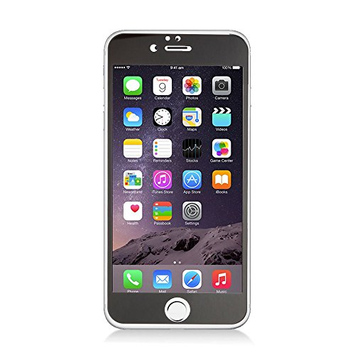 iPhone 6/6s Screen Protector, Insten Clear Tempered Glass LCD Screen Protector Shield Guard Film for Apple iPhone 6/6s, Gray