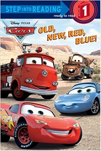 Old New Red Blue Step Into Reading Cars Movie