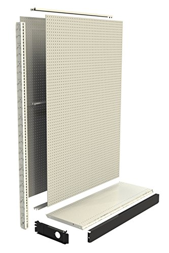 Gondola Shelving (Madix Fixtures Wall Section, 48