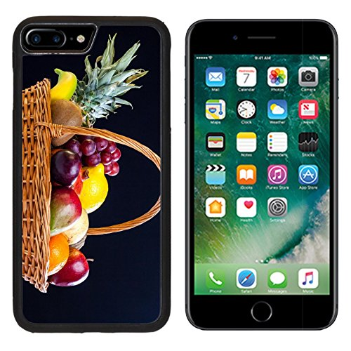 MSD Premium Apple iPhone 7 Plus Aluminum Backplate Bumper Snap Case iPhone7 Plus IMAGE ID 27238405 Bunch of exotic fruits in a big basket