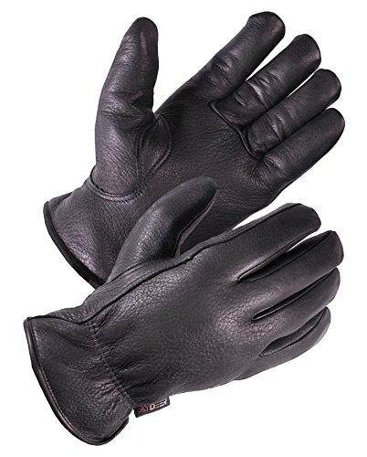 SKYDEER Deerskin Leather Hi-Performance Utility Winter Drivers Work Gloves (SD2211T/M)