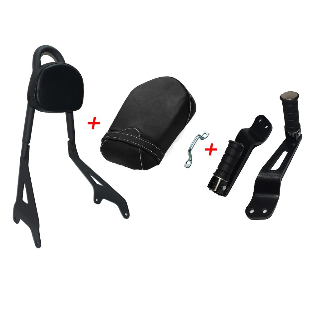 Backrest Sissy Bar Rear Seat Footreat for Yamaha Bolt XVS950 R XVS 950R2014-2016 2015