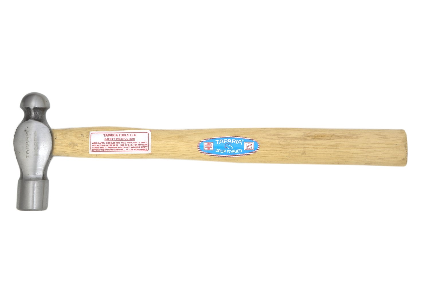 Taparia WH110B Ball Peen Hammer with Handle