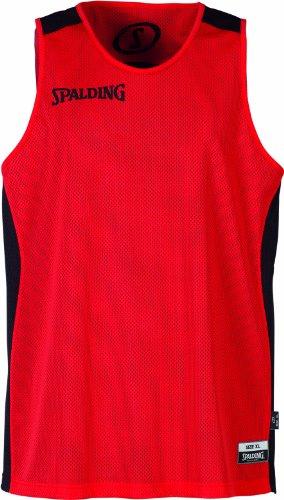 Spalding Teamtrikots & Sets Essential Reversible Shirt, rot/schwarz, XXS, 300201401