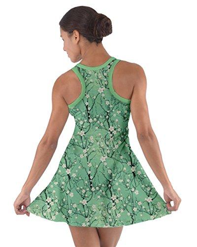 CowCow - Vestido - para mujer Green Material #2