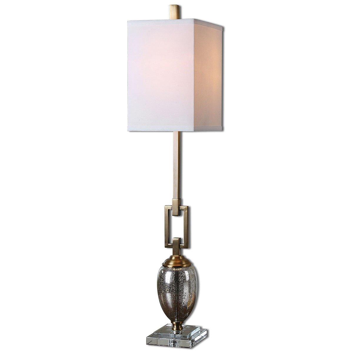 Amazoncom Uttermost 293381 Copeland Mercury Glass Buffet Lamp