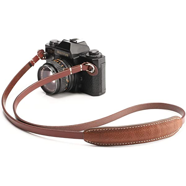 CIESTA D-SLR RF Mirrorless Camera Leather Neck Shoulder Strap CSS-RF12 Black//Red stitch
