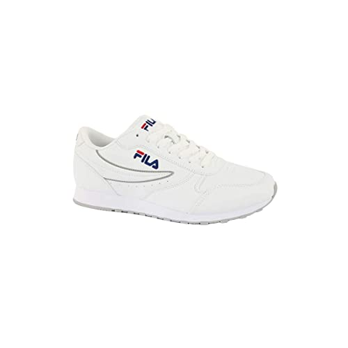 33a757ada1c4 Fila Mens Orbit Low Trainers in White  Amazon.co.uk  Shoes   Bags