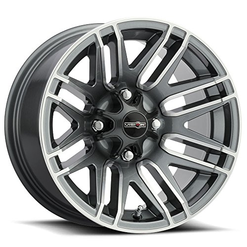 UPC 886821179299, Vision 112 Assault 14x8 4x110 -10.2mm Gunmetal Wheel Rim
