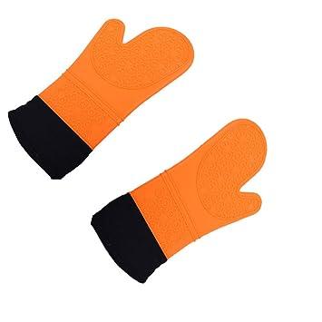 Amazon.com: Miaomiaogo 1 par de guantes de silicona ...