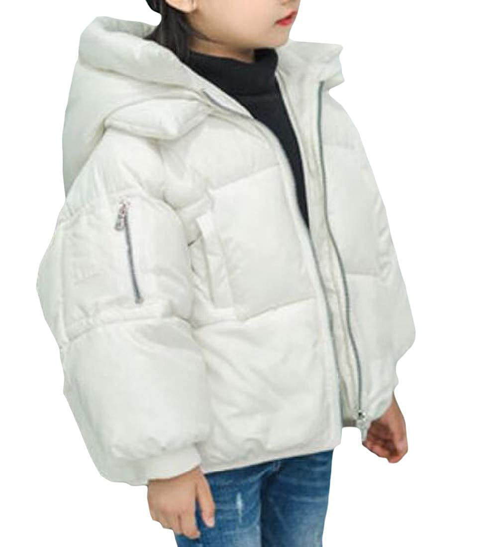 XiaoTianXinChildrenscostumes XTX Boy Or Girl Lovely Hooded Thick Cotton-Padded Puffer Parkas Jacket