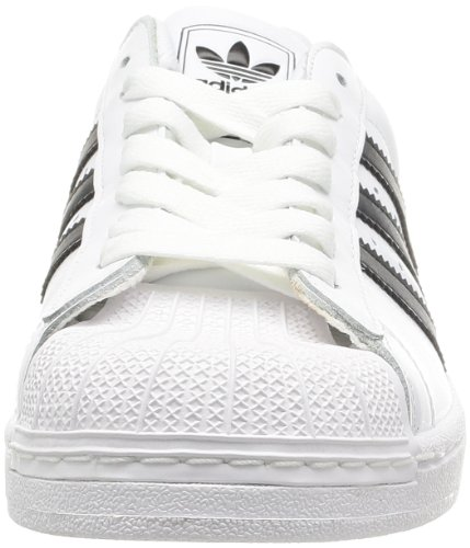 mode Superstar II Blanc Noir homme adidas Baskets Originals Blanc wxgq1HI4
