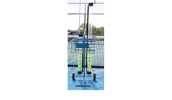 Carro portapelotas 80 Pelotas Tenis y Padel Azul Gran Durabilidad ...