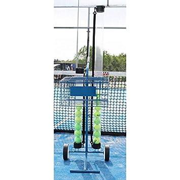 Carro portapelotas 80 Pelotas Tenis y Padel Azul Gran Durabilidad y Estabilidad: Amazon.es: Deportes y aire libre