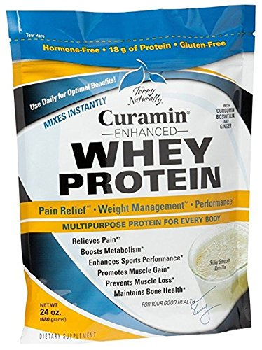 Enhanced Protein (EUROPHARMA Curamin Enhanced Whey Protein, 24 Ounces)
