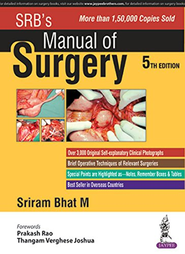 Srb Manual Of Surgery 3rd Edition Pdf