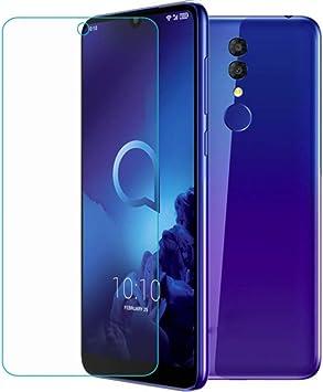 WCJHEJFV Vidrio Templado para Alcatel 3 2019 5053 [KY] Protector de Pantalla Película LCD a Prueba de arañazos para Smartphone para 5053Y 5053K Cubierta de Vidrio: Amazon.es: Electrónica