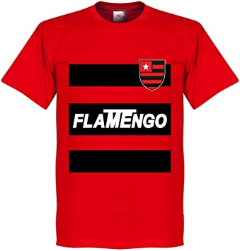 Camiseta Flamengo Team - Rojo