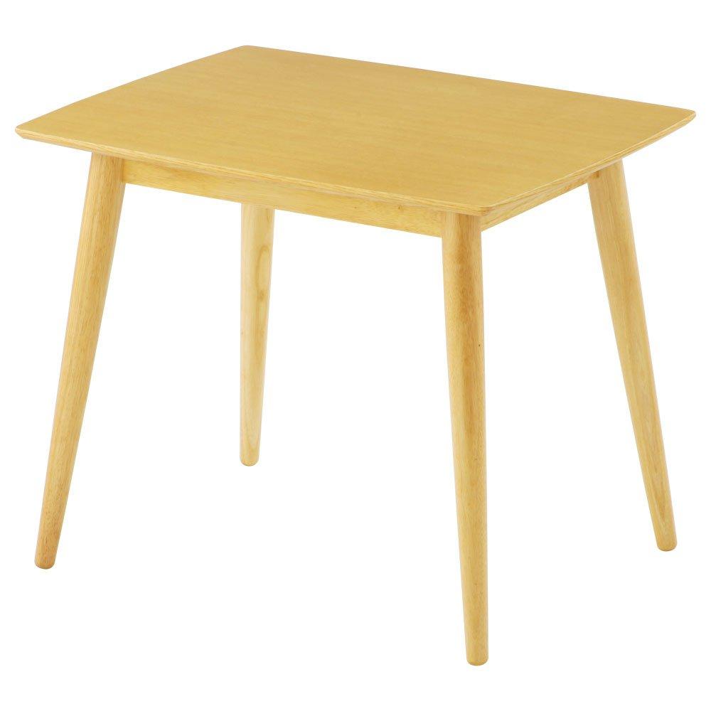 ダイニングテーブル テーブル 食卓テーブル 木製 マルチテーブル カフェテーブル 〔幅85cm〕 ナチュラル B06XRTLMZY