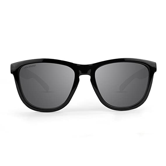 c5dcd71972 Amazon.com  New Epoch Eyewear Greg Lutzka 2 Skateboard Black Gloss With Polarized  Smoke Lens  Clothing