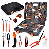 Scuddles SC-GTK-01 Garden Tools Set Hard Case, Black