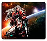 VUTTOO Large Mouse pad - Samus Aran Metroid 30857 High Quality Durable Mousepad Non-Slippery Rubber Gaming Mouse Pad